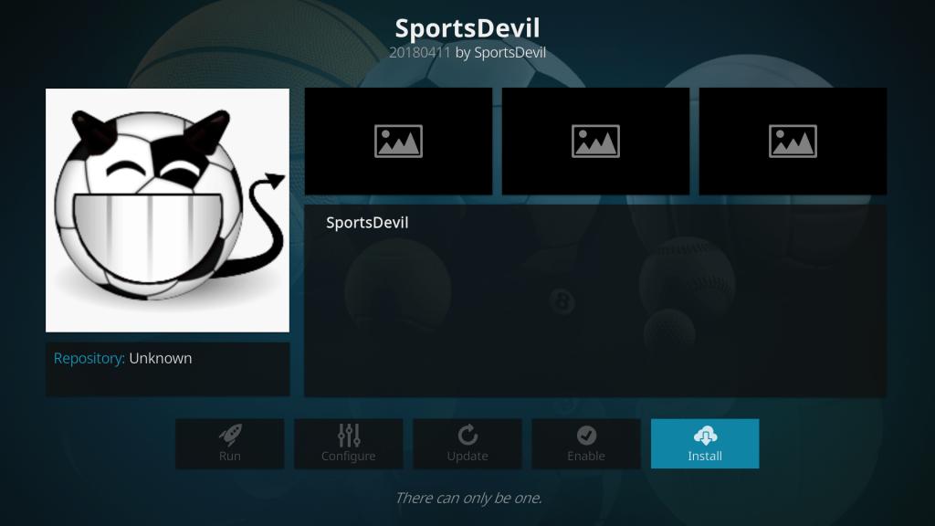 install SportsDevil Kodi Addon