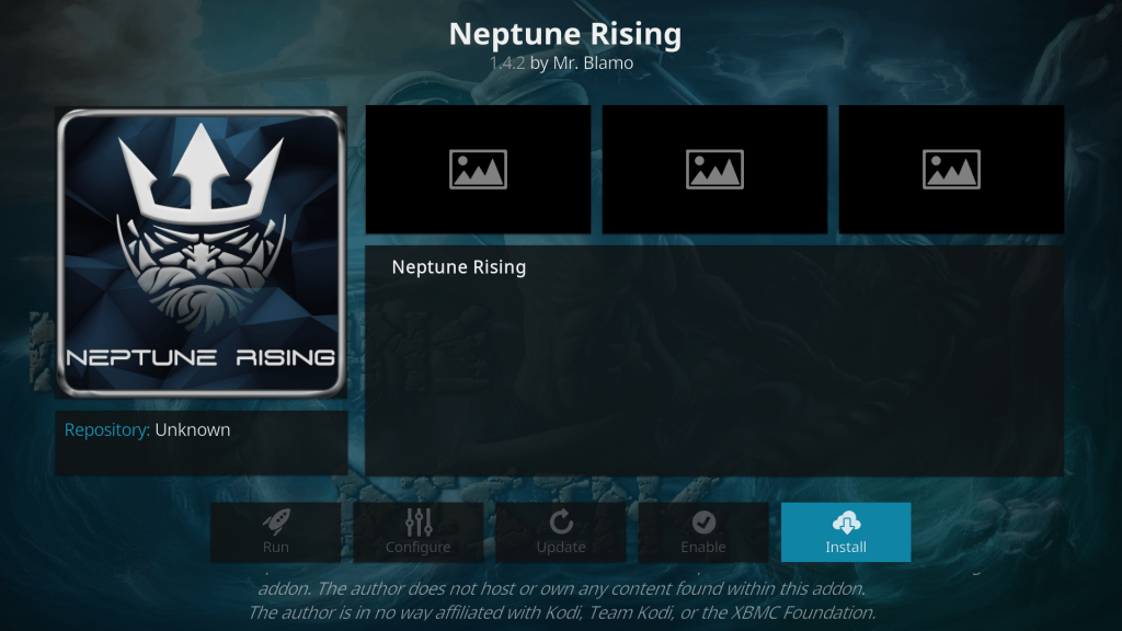 how to install neptune rising