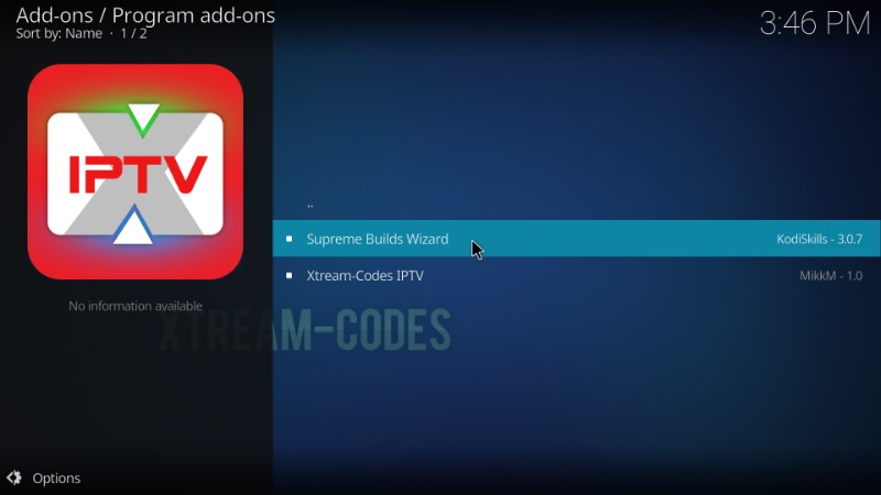supreme builds wizard for kodi titanium build