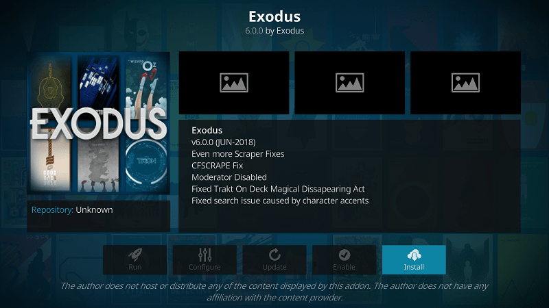 how to install exodus kodi addon